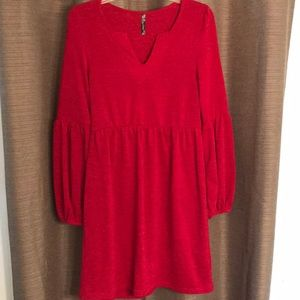 NWOT Beautiful Dark Red Dress by Crece